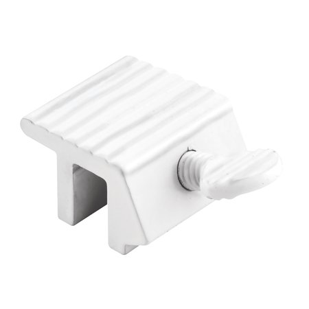 Sliding Window Lock, 1 in., Heavy Duty, Extruded Aluminum, White Finish (2-pack) Motorized Heavy Duty Aluminum Shutters