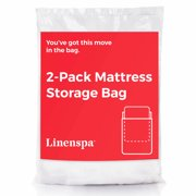 Linenspa 2-Pack Mattress Bags for Moving, Storage and Disposal, Multiple Sizes