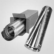 Lindemann 350106 6 x 24 Inch Galvanized Pipe