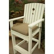 Uwharrie Chair B4-00C 4-Seat Dining Bench Cushion - Grade C