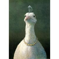 Fowl with Pearls Art Print By Michael Sowa - 16.5x23.5