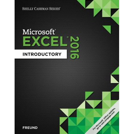 Shelly Cashman Microsoft Office 365 & Excel 2016: Introductory Promo Code