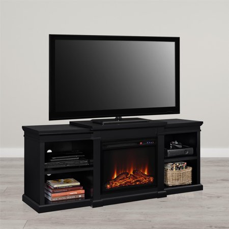 Ameriwood Home Manchester Electric Fireplace Tv Stand For Tvs Up