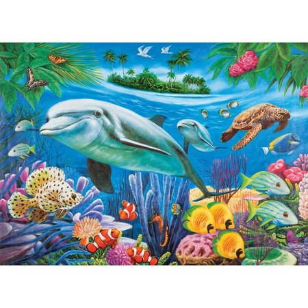Dolphin Collectors (Dolphin Lagoon 1000pc Collector Puzzle By: Roland Richardson)