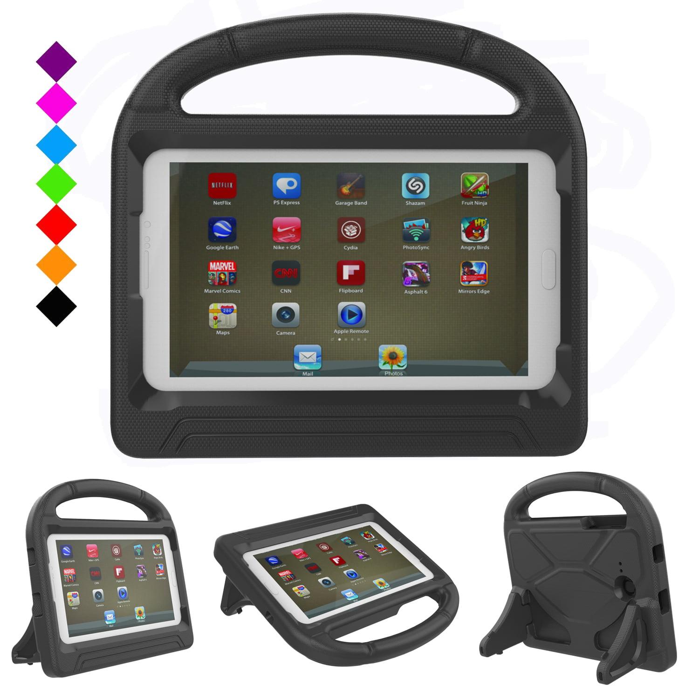Galaxy Tab E Lite 7.0/ Galaxy Tab 3 Lite 7.0 Tablet Case,Goodest Lightweight Handle Stand Kid Proof Friendly Case for Samsung Galaxy Tab E Lite 7.0/ Samsung Galaxy Tab 3 Lite 7.0 T110 T111 T113, Rose