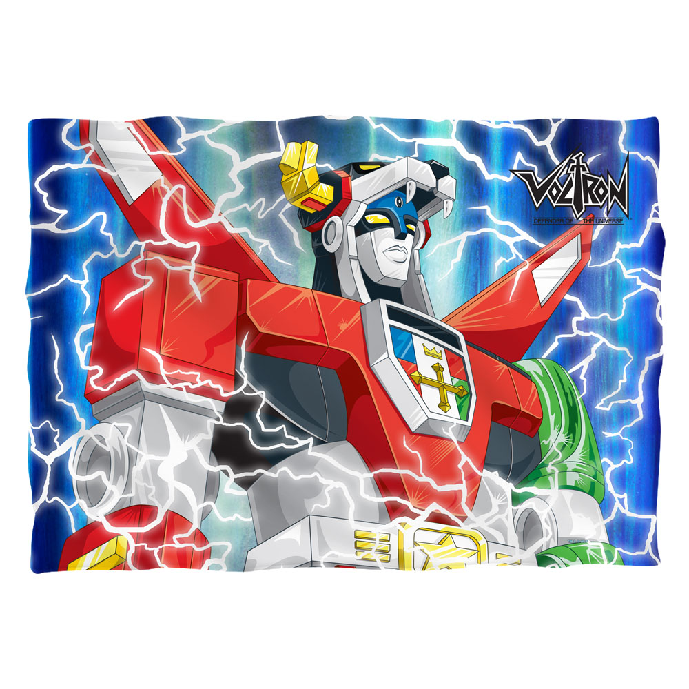 Voltron Lightning Combine Poly 20X28 Pillow Case White One Size