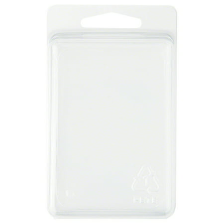 - Clear Plastic Clamshell Package / Storage Container, 3.38