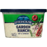 Litehouse Garden Ranch Veggie Dip 15.5 fl oz Tub