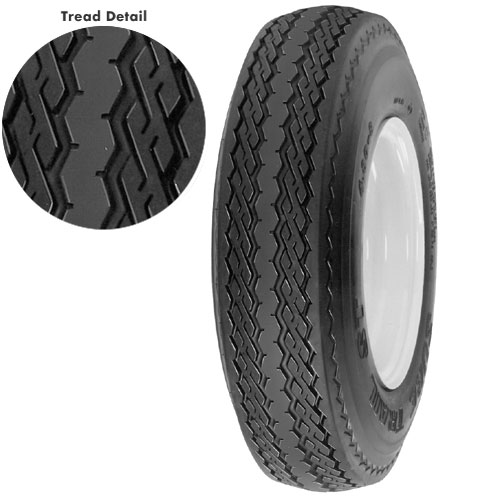 American Tire 570 X 8 (B) Tire Only - Import P/N 10010