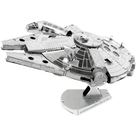 (Metal Earth 3D Laser Cut Model, Star Wars, Millennium Falcon)