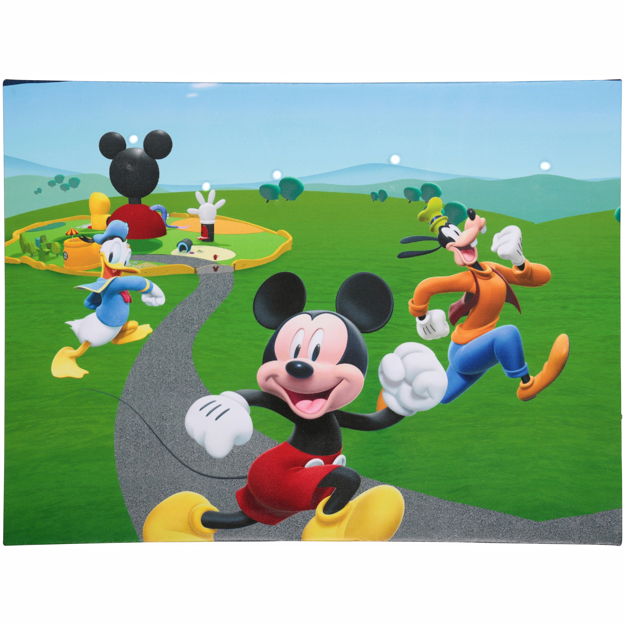 Disney Junior Mickey Mouse Clubhouse LED Canvas Wall Art