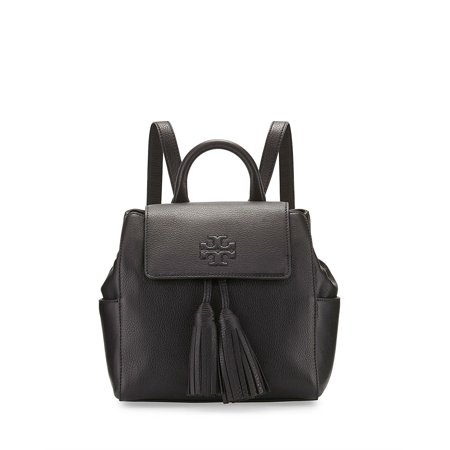 Best Tory Burch Thea Mini Backpack Black Leather Bag deal