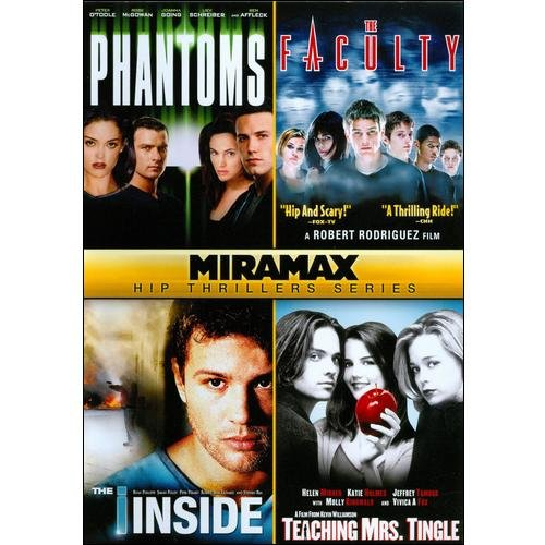 Miramax Hip Thrillers Series: Phantoms / The Faculty / The I Inside / Teaching Mrs.Tingle