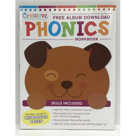Creative Teaching Materials CTM1004 Phonics 32 PG Workbook with Album Download - Teaching Store