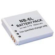 NB-6L Rechargeable Lithium-ion Replacement Battery for Canon