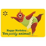 Party Animal Walmart eGift Card