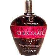 Brown Sugar Spicy Black Chocolate Tingle Bronzer Tanning Bed Lotion - 13.5 oz.