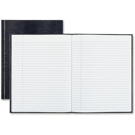 Blueline, REDA7BLU, Hardbound Executive Notebooks, 1 Each - Notepro Executive Notebook