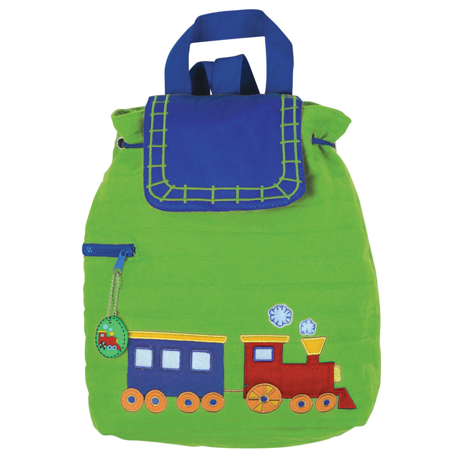 Stephen Joseph Boys Kids Colorful Quilted School Travel Weekend Backpack Bag NEW