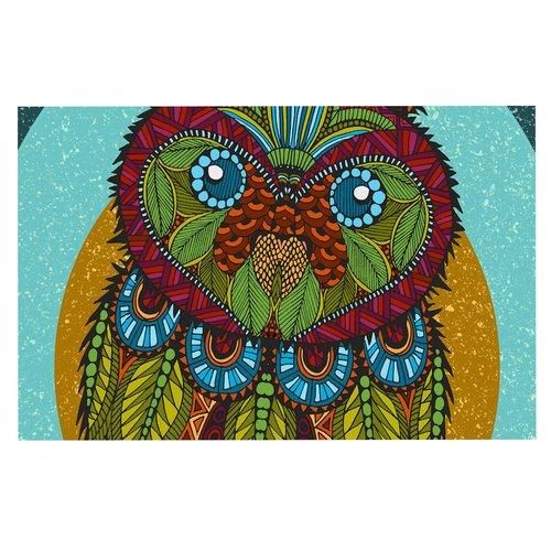 East Urban Home Art Love Passion Owl Doormat