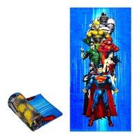 "Justice League Heros Towel 30""x60"" Aquaman, The Flash, Greenlantern, Wonder Woman, Batman, Suiperman"