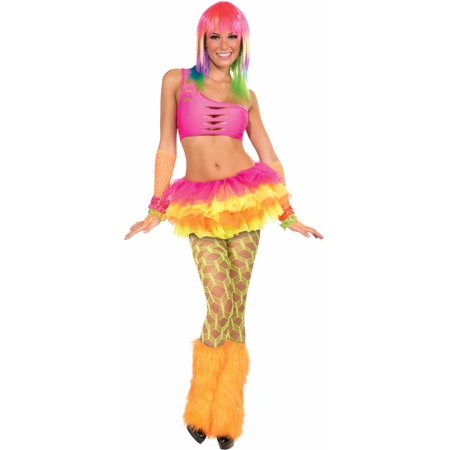 Adult  Green Wide Fishnet Costume Club Candy Pantyhose