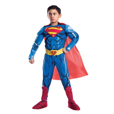 Ultimate Superman Armored Child Costume - Halloween Ultimate