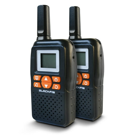 Black Fin® Walkie Talkie Solar Power Kit