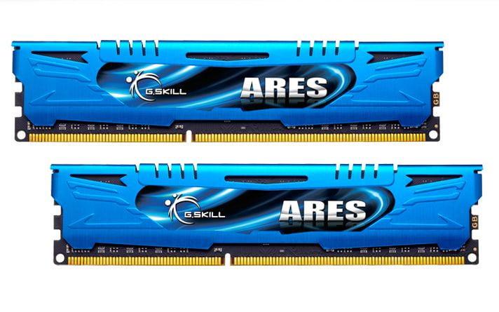 G.Skill F3-1600C9D-8GAB Ares Series 8GB 2x4GB DDR3-1600 SDRAM Memory