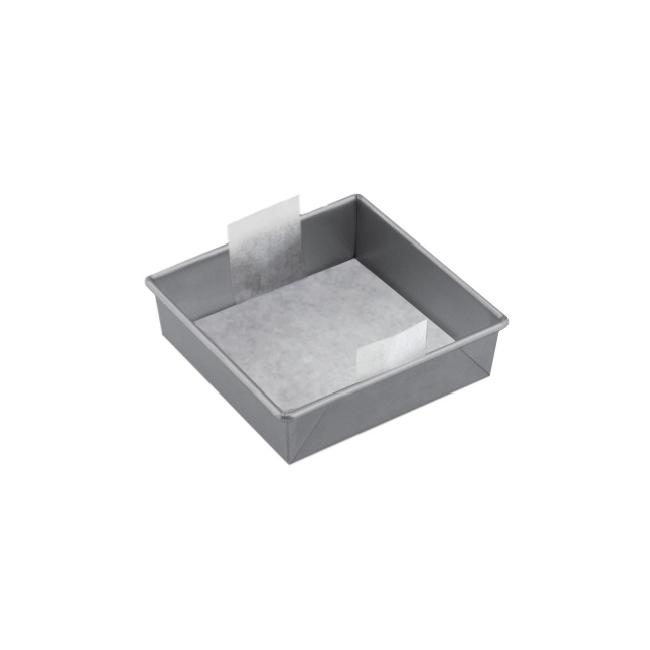 "The Smart Baker 8"" Square Parchment (24 Pack)"