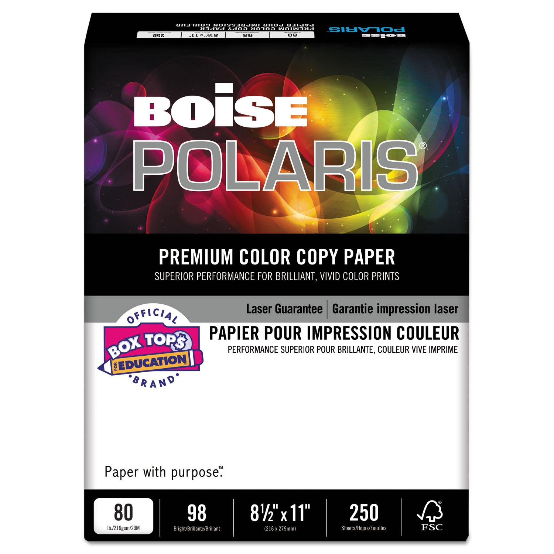 Polaris Premium Color Copy Paper 80lb 98 Bright 8 1 2 X 11 White
