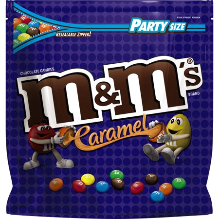 M&Ms Party Size Caramel Candies - 38oz