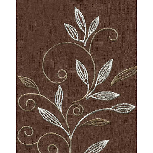 CHF & You Scroll Leaf  Kitchen Curtains, Set of 2