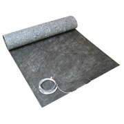 THERMOSOFT 1510-240 Electric Floor Heating Pad, 10 ft. L, 240V