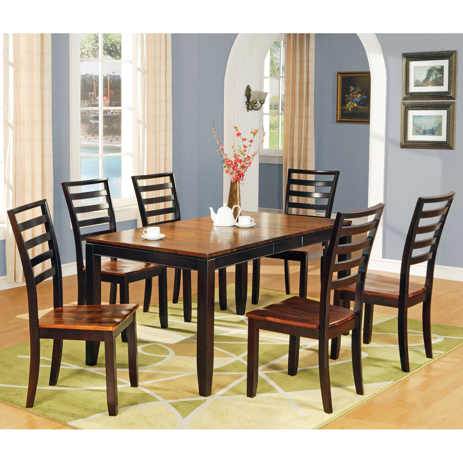 Steve Silver Abaco 7-Piece Dining Table Set by Steve Silver Co