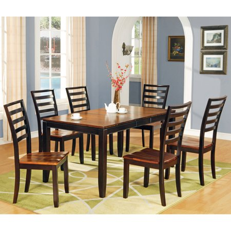 Steve Silver Abaco 7 Piece Dining Table Set Walmart Com