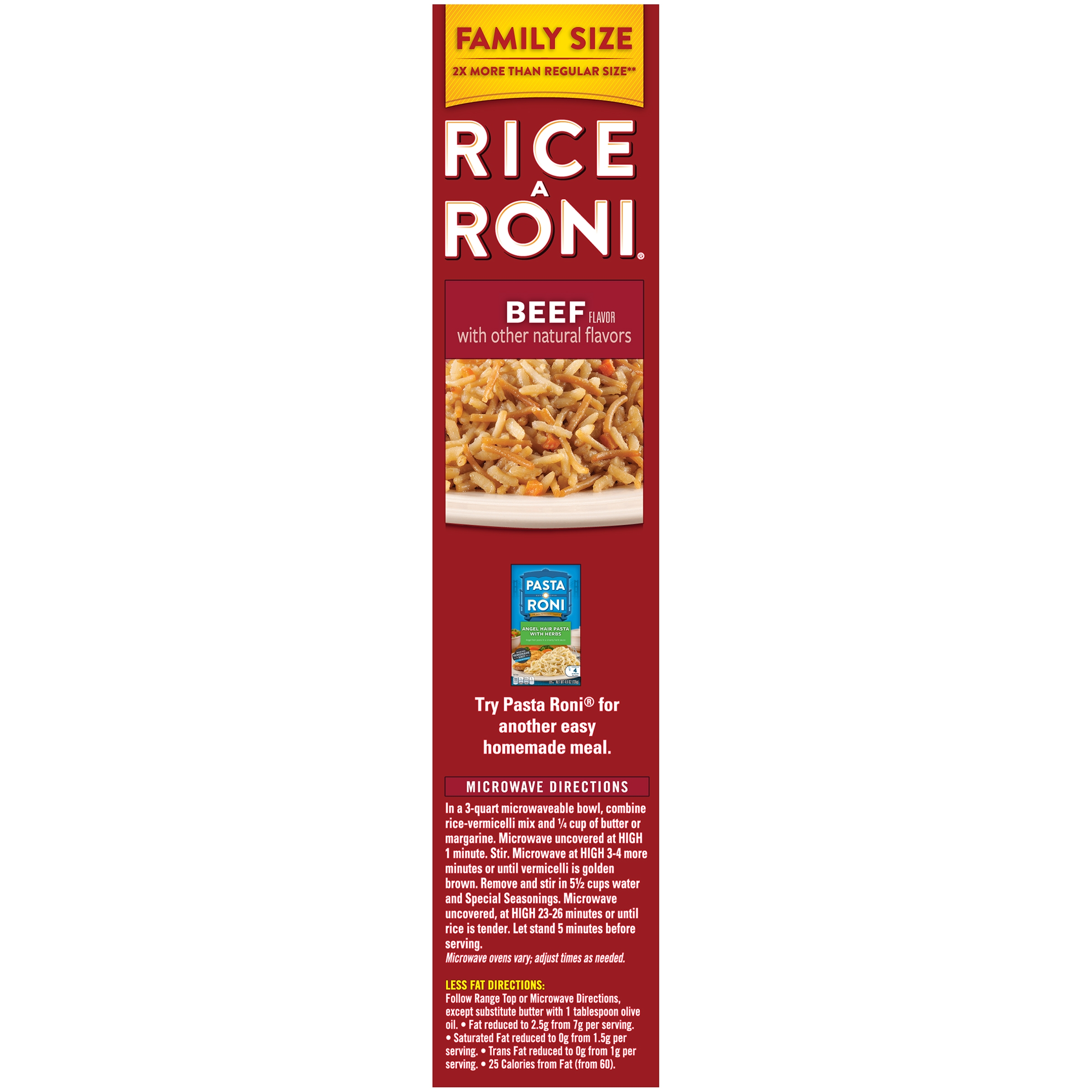 Rice a roni rice vermicelli mix beef 136 oz box walmart ccuart Image collections