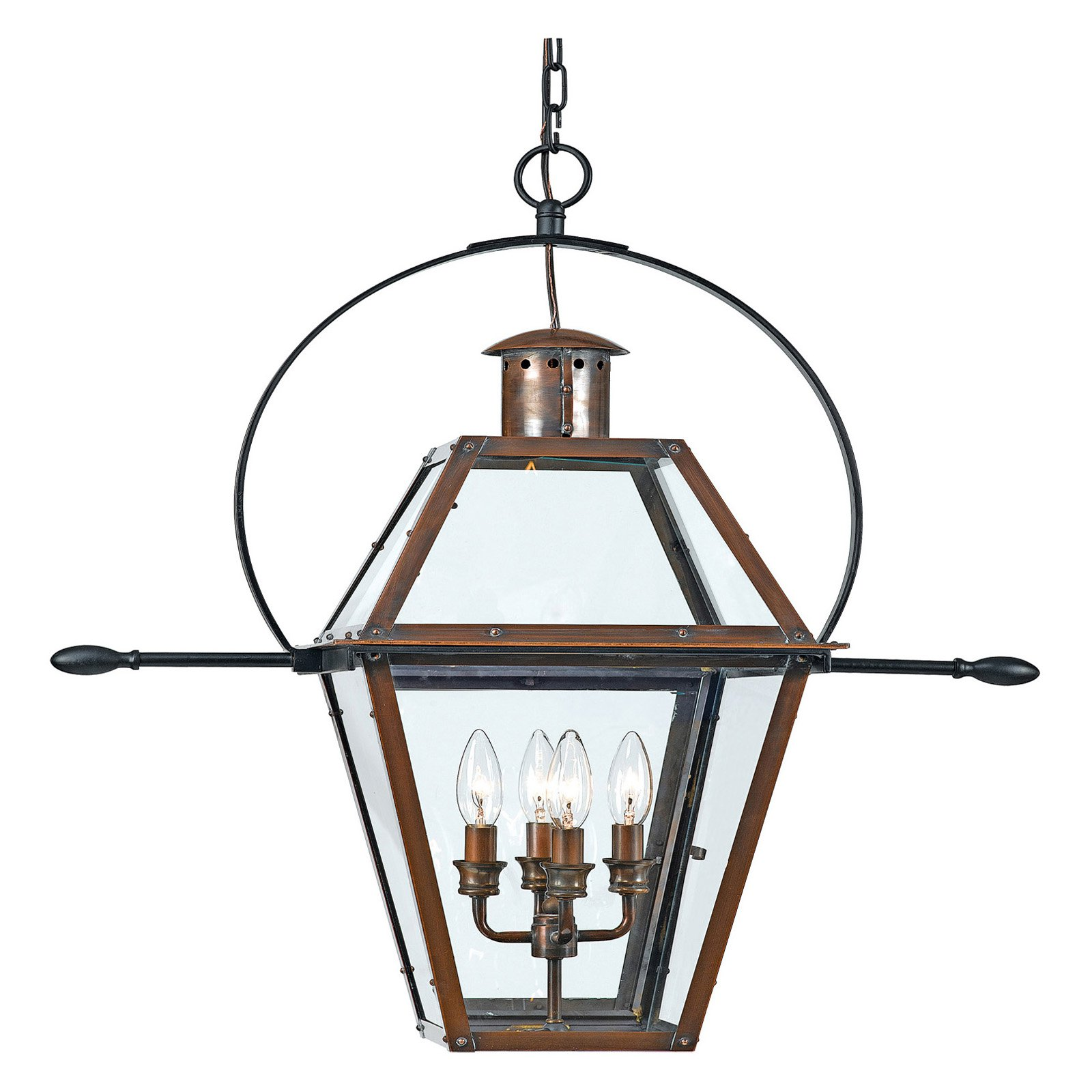 Quoizel Rue De Royal RO1914AC Outdoor Hanging Lantern by Quoizel
