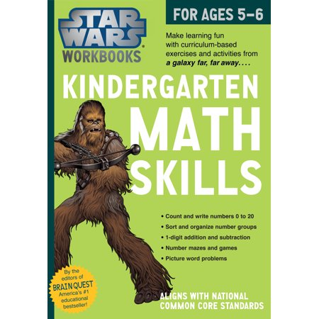 Star Wars Workbook: Kindergarten Math Skills - Paperback - Math Halloween Activities Kindergarten