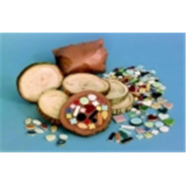 Diamond Tech Non-Adhesive Mosaic Tree Bark Coaster - 3. 5 To 4 inch