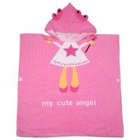 Mgaxyff Pure Cotton Cartoon Baby Bathrobe Towel Kids Hooded Bath Robe Children's Beach Towel, Baby Blanket, Baby Bath Towel