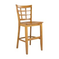 Safsil Seating Lattice Back 24 in. Counter Stool