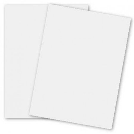2pBasics White 12-x-18 Cardstock Paper 100-pk - 270 GSM (100lb Cover) PaperPapers Large size Econo Card Stock Paper - Business, Card Making, Designers, Professional and DIY Projects