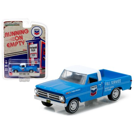 1972 Ford F-100 Chevron Pickup Truck 1/64 Diecast Model Car by (Chevron Car)