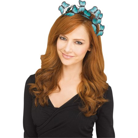 Halloween Headbands (Fun World Monarch Butterfly Fascinator Halloween Headband,)