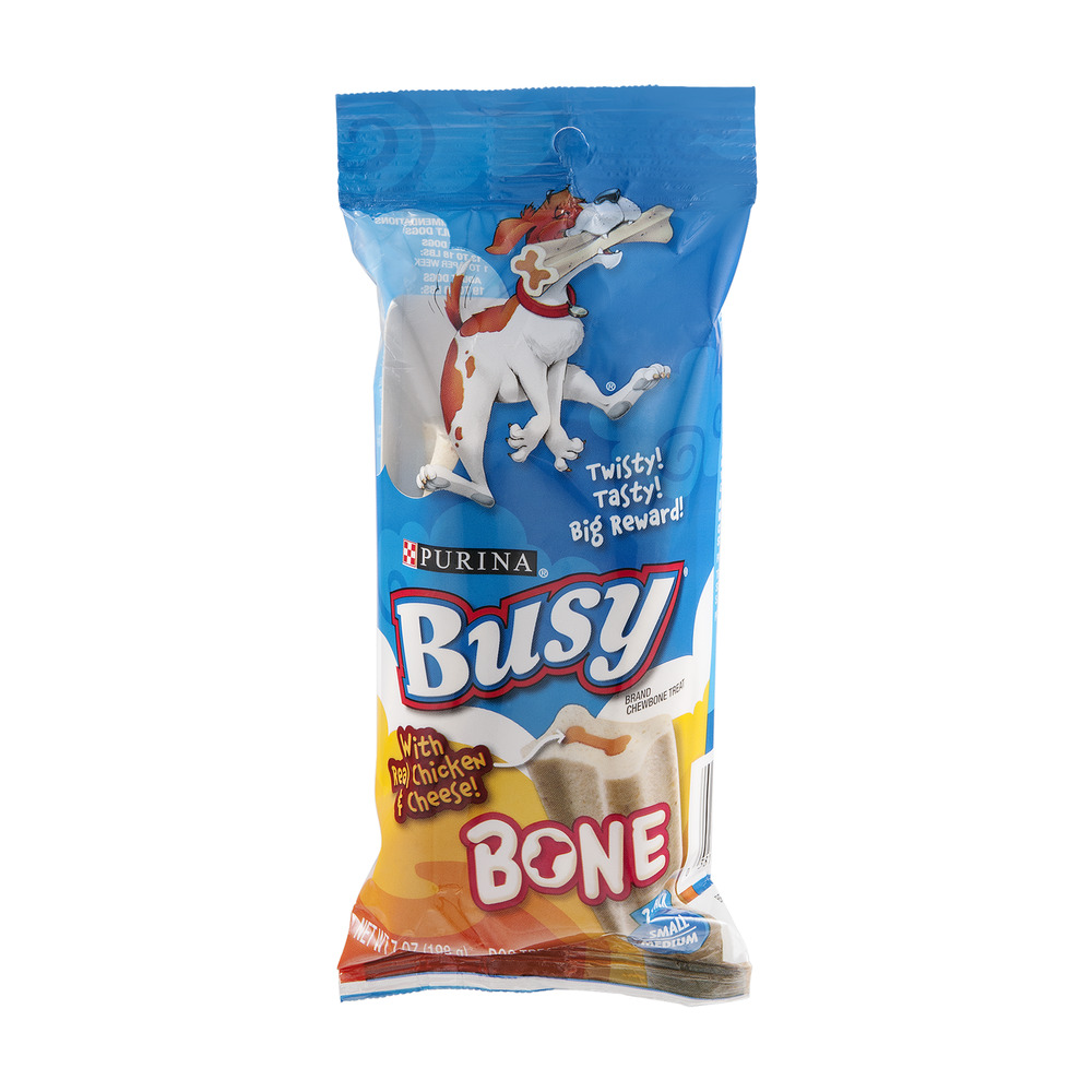 Purina Busy Bone Dog Treats With Real Chicken & Cheese - 2 CT