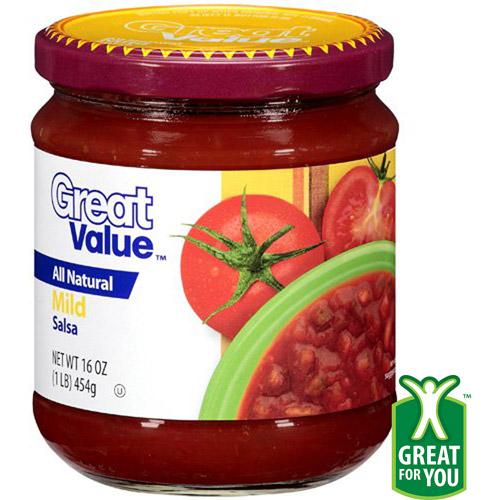 Great Value Mild Salsa, 16 oz