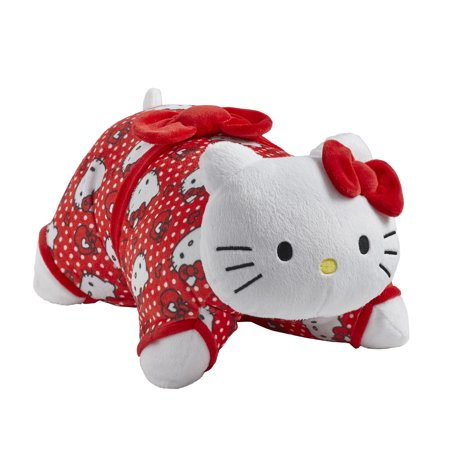Hello Kitty Halloween Plush (Pillow Pets® Sanrio Red Polka Dot Hello Kitty 16