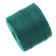 Super-Lon (S-Lon) Cord - Size #18 Twisted Nylon - Teal (77 Yard Spool)