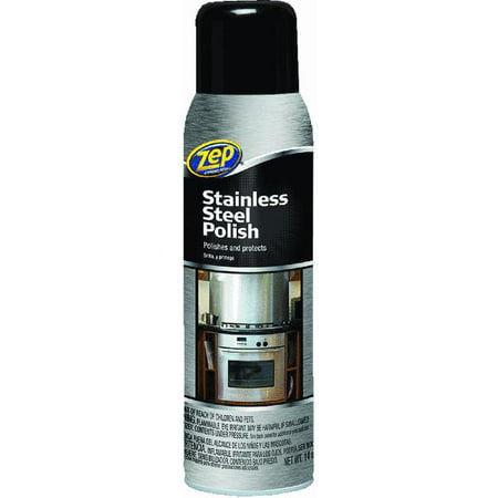 Zep Commercial Stainless Steel Cleaner, 14 - Zep Pro Leather